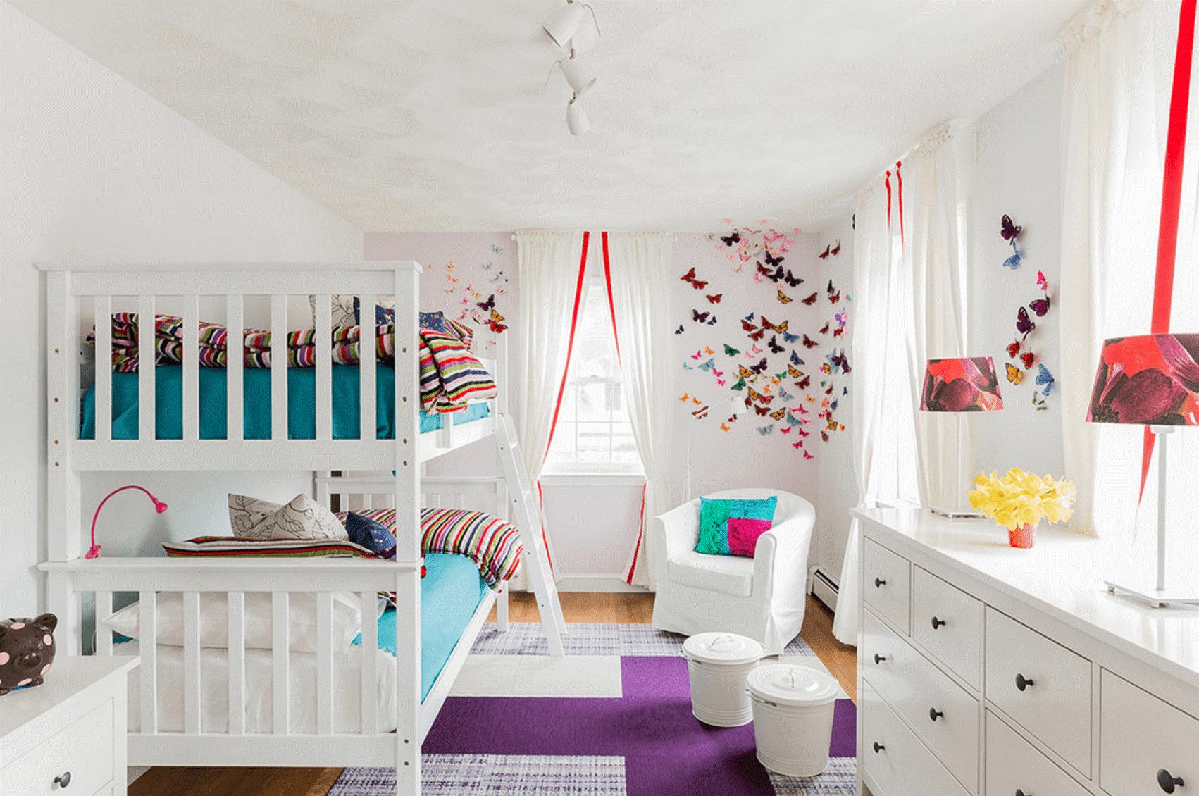Ý tưởng thiết kế phòng ngủ cho bé